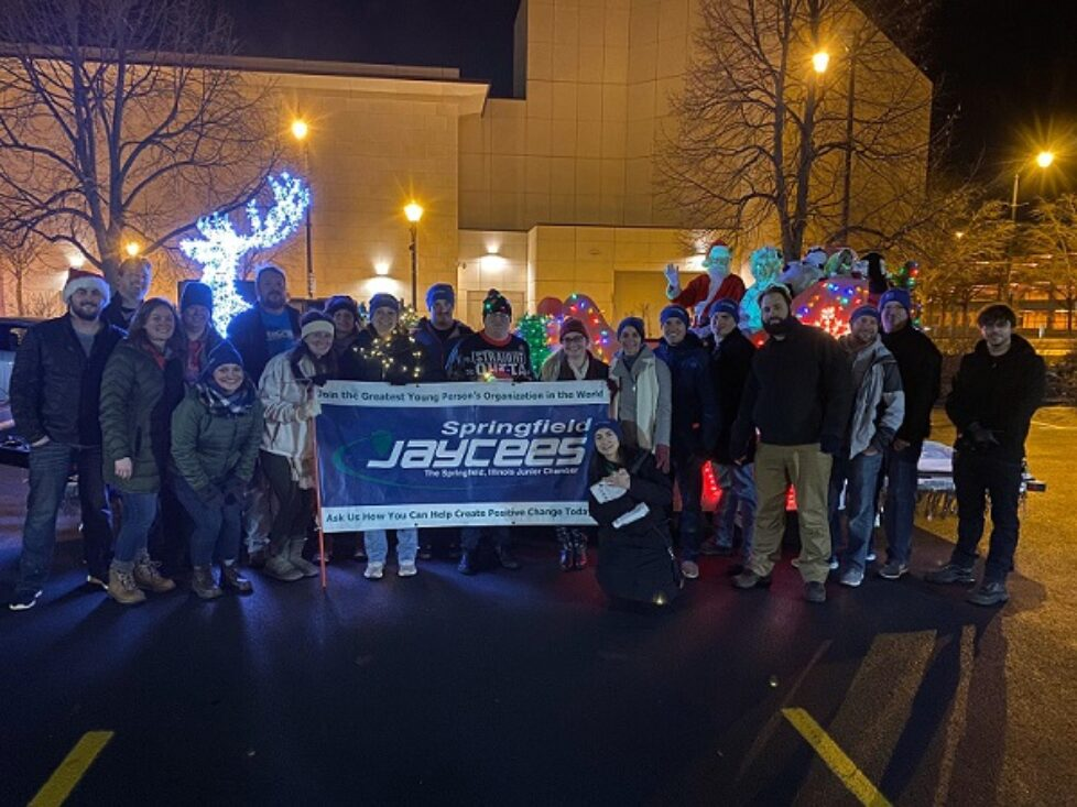 Springfield Jaycees with Float